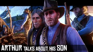 Arthur Talks To Rains Fall About His Sickness & Son (Archeology for Beginners) Red Dead Redemption 2