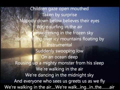 Walking in the air best instrumental & lyrics