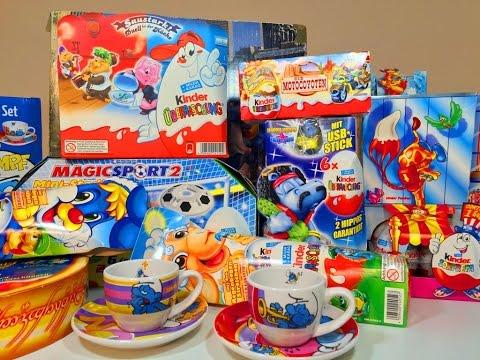 Киндер Сюрпризы В Посылке с  Ebay ( Unboxing Surprise Pack with Kinder Surprise )