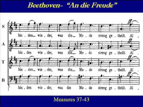 Beethoven lyrics