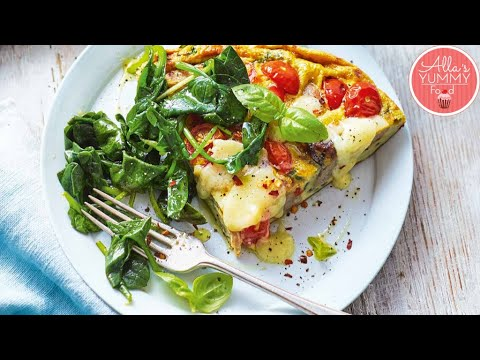 Cheese & Vegetable Frittata Recipe   Easy Breakfast Meal Prep