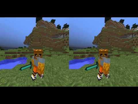 MineCraft Stereoscopic Video (Google Cardboard, Etc)