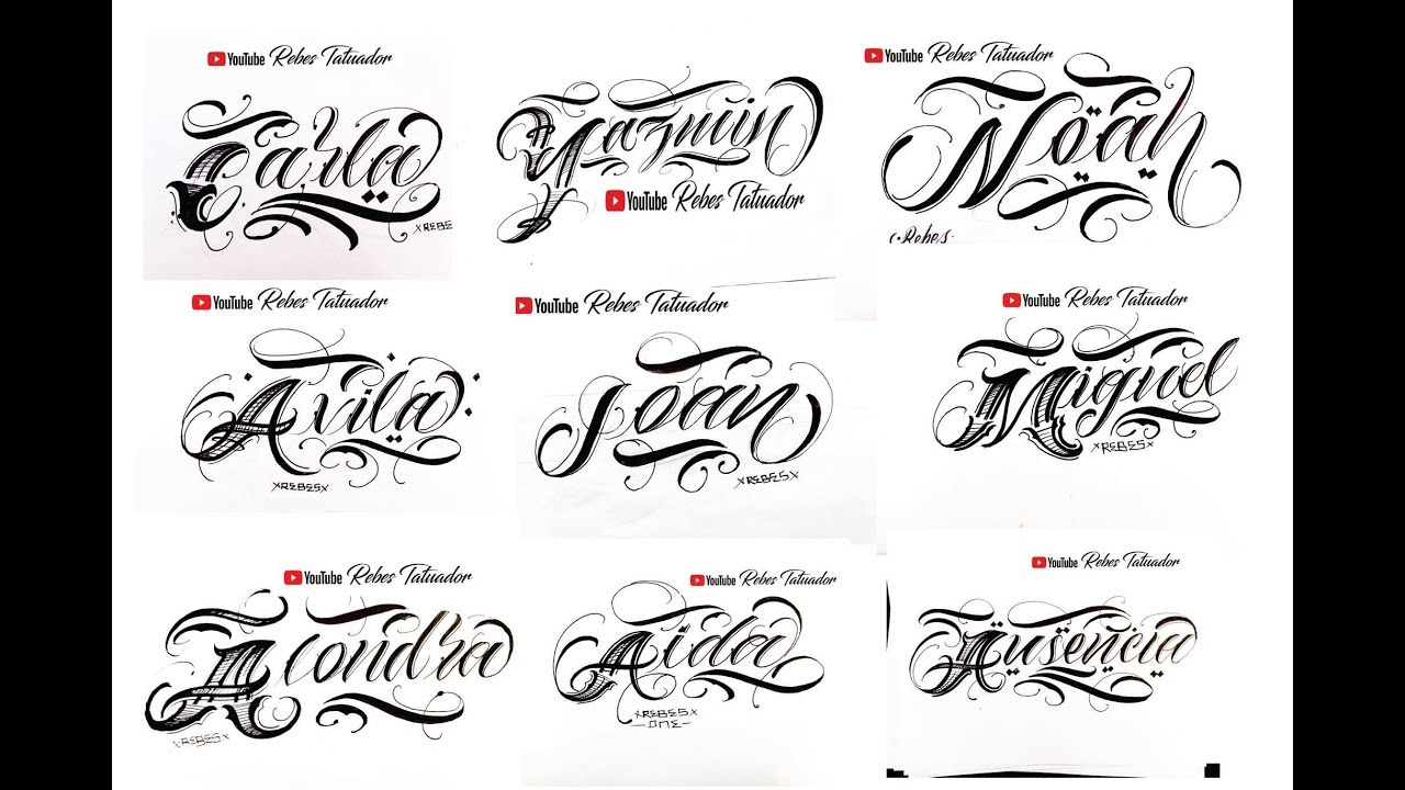 Name tattoo design on hand    latest tattoo font design    letters Tattoo