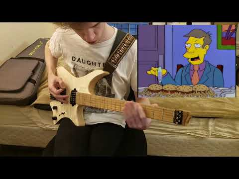 steamed hams but it's a guitar dub