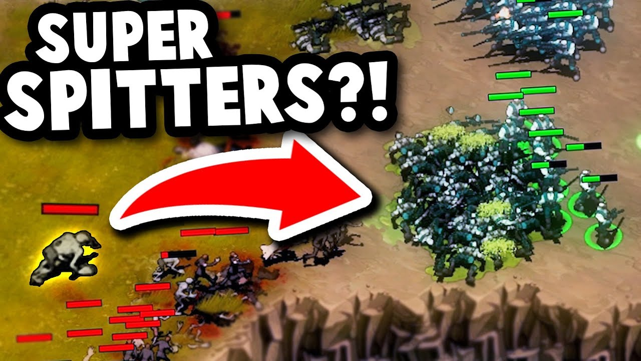 MODDED MAYORS and SUPER VENOM SPITTERS?! | They Are Billions Modded Mayor  Gameplay