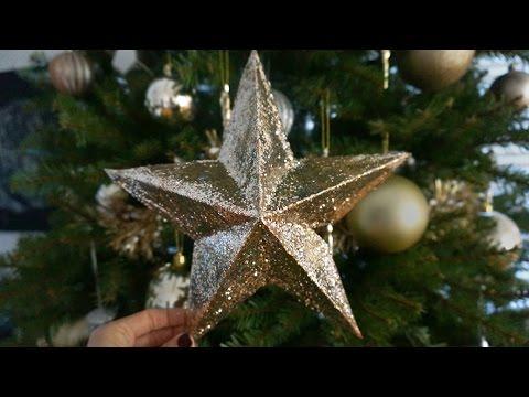 Decorar Estrellas De Navidad En Cartulina.Diy Estrella De Navidad 3d Superholly