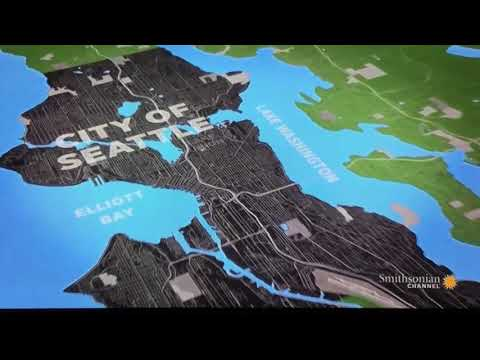 Aerial America CITIES (Seattle, WA)