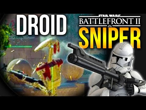 STAR WARS BATTLEFRONT 2 SNIPER GAMEPLAY Specialist class