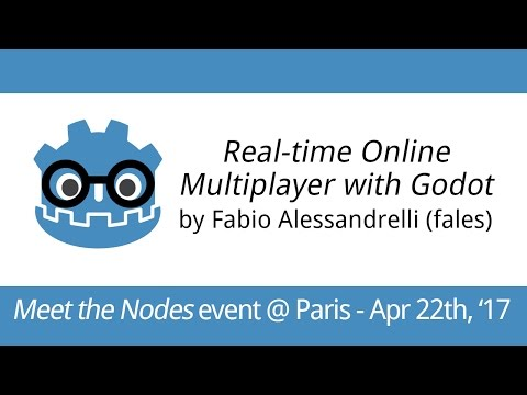 Meet the Nodes 2017 | Discussion on Godot's online multiplayer API