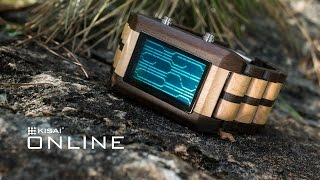 Natural Wood Watch - Kisai Online Wood Lcd Watch From Tokyoflash Japan