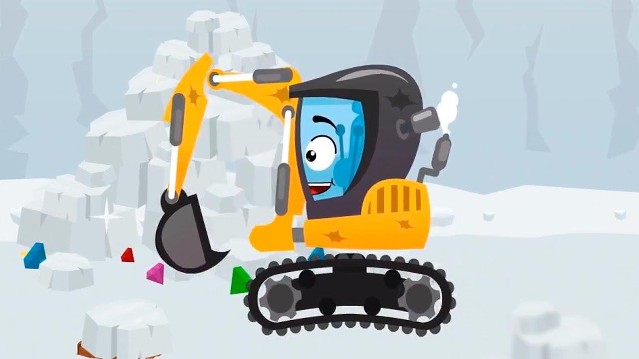 La pelleteuse exploratrice cars stories dessin anim pour les enfants youtube - Dessin anime les pingouins ...