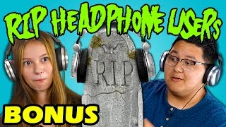 Teens React to RIP Headphone Users Compilation (Bonus #157)