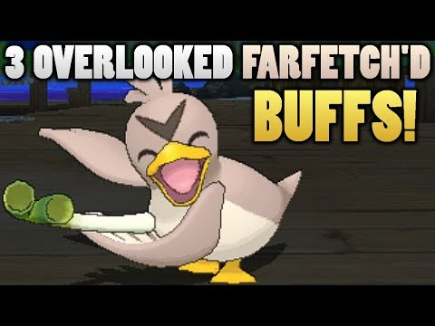 3 Overlooked Farfetch'd Buffs In Pokemon Ultra Sun and Moon
