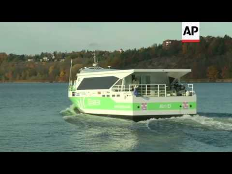 Trials of the world's fastest all-electric commuter ferry