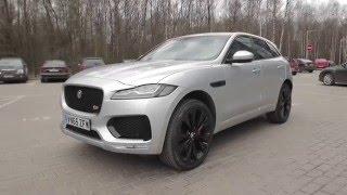 Тест драйв Jaguar F-pace от Антона Воротникова | TopAuto