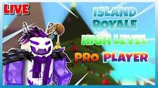 🔴 ROBLOX ISLAND ROYALE 🌴 | PLAYING WITH VIEWERS 🔥| R$ GIVEAWAY EVERY 15 SUBS 💰| 😱 PRO PLAYER 🔴