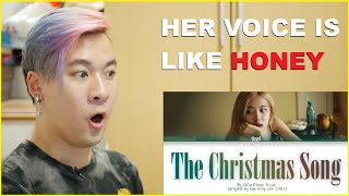 ROSÉ - 'THE CHRISTMAS SONG (Nat King Cole)' COVER Reaction | SO SHOOK! | BLACKPINK Reaction