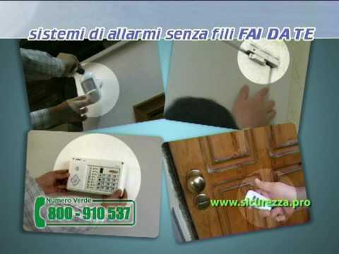 Allarme antifurto casa senza fili wifi allarmi antifurti - Allarmi casa senza fili ...
