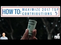 How to MAXIMIZE Your 2017 TSP Contributions!