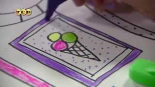 Обои раскраски для детей своими руками. Мамина школа. ТСВ