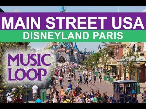 MAIN STREET USA Disneyland Paris MUSIC LOOP | original Euro Disneyland Music seeyouinmainstreet