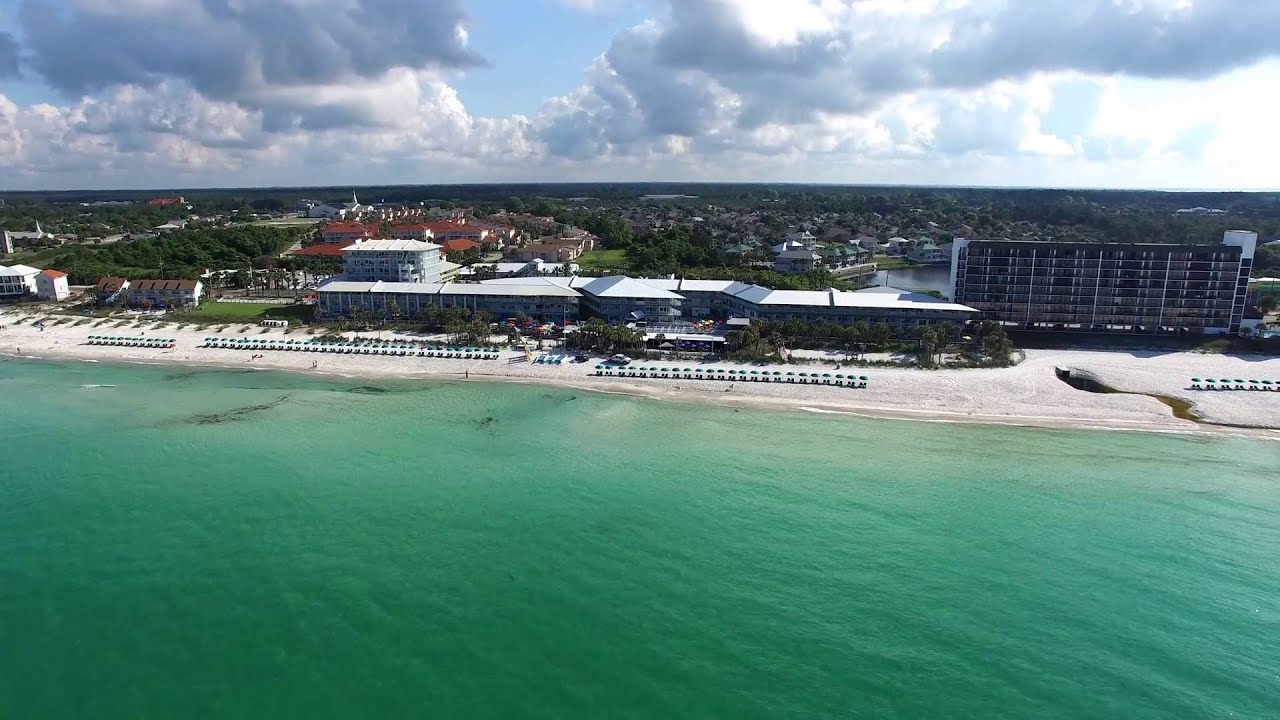Panama City Beach Sand Piper Beacon Zipline View Of Resort
