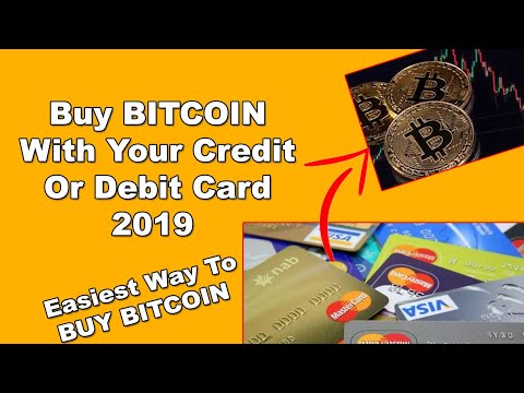 How To Buy Bitcoin With Your Credit OR Debit Card 2020