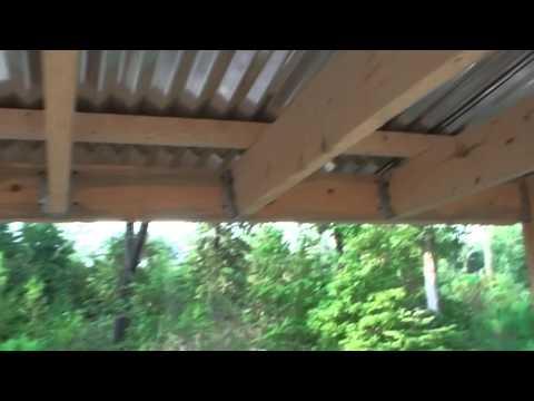 Building a smokehouse 2