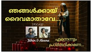 Njangalkkai Daivamathave | Luthiniya with Lyrics | Litany with Lyrics