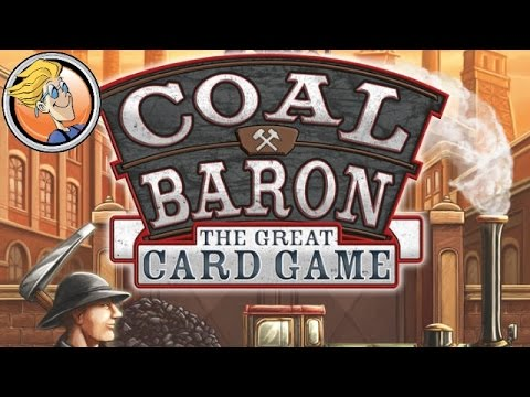 Coal Baron: The Great Card Game — overview at SPIEL 2016 by eggertspiele