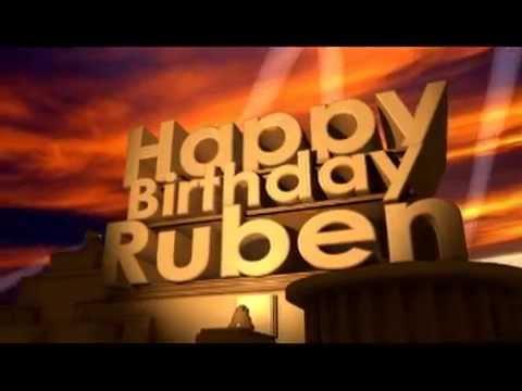 Happy Birthday Ruben Youtube