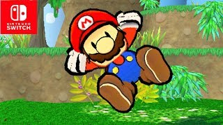 Super Smash Bros. Ultimate Paper Mario Reveal