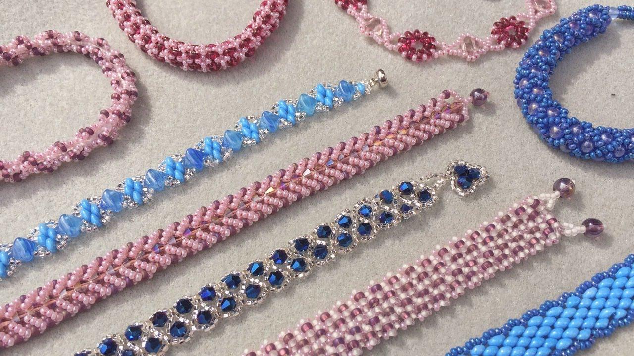 11 Gorgeous Bead Weaving Designs Live Tutorial | Bead Weaving For Beginners | DIY Jewelry Tutorial