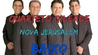 """Kit de ensaio da canção """"nova jerusalém"""" do quarteto gileade. apreciem! letra: nos iremos ver o que joão viu deus a cidade santa verei,(sim verei), verás(..."""