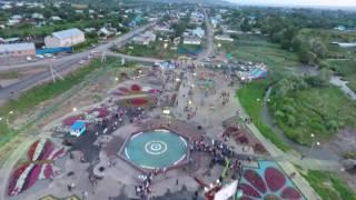 ВКО, Урджар. Детский парк вид с птичьего полета. 2