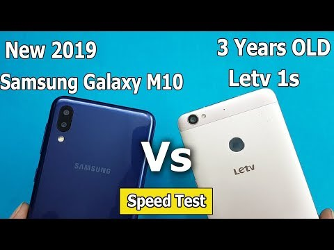 (New) Samsung Galaxy M10  Vs Letv 1S ( 3 Years OLD) Speed Test || Antutu Benchmark Scores