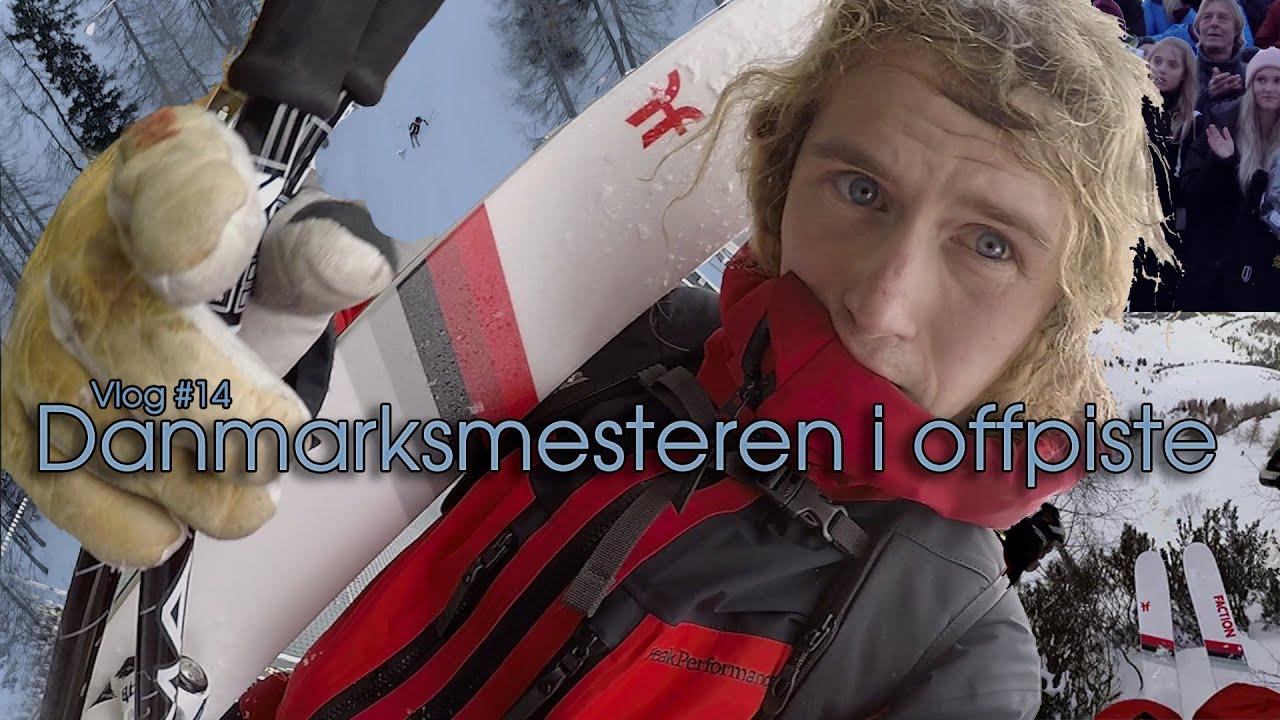 Danmarksmesteren i offpiste - Rasmus DJ Vlog #14