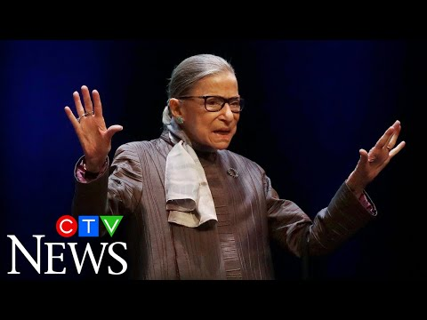'It's a towering loss': Liberal icon, gender rights champion Ruth Bader Ginsburg dead at 87