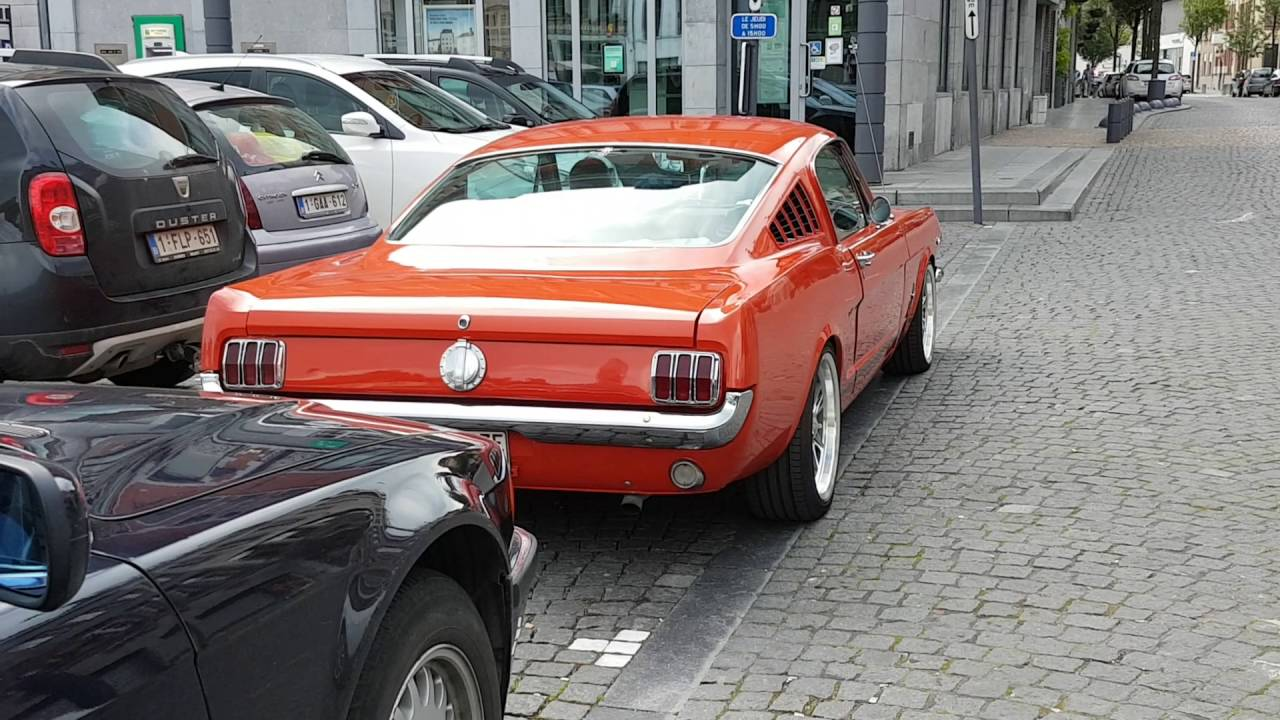 Ford mustang 1965 fastback startup and sound
