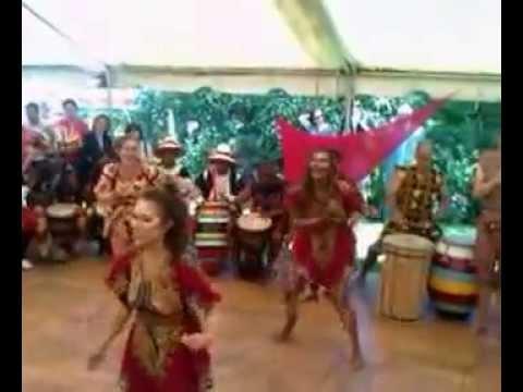 Danza candombe y danza de Togo