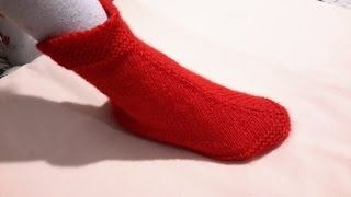 ВЯЗАНИЕ,Тапочки на быструю руку!Легко и просто.knitting.Tejer.الحياكة