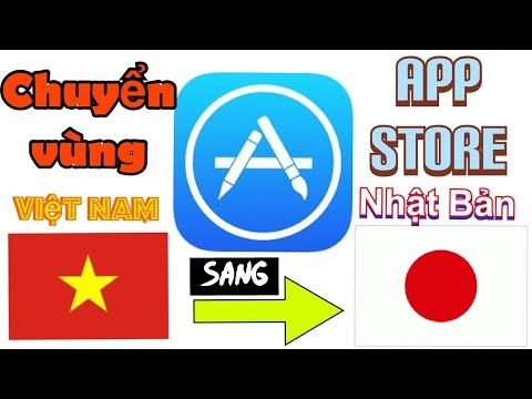 Chuyển Vùng App Store Từ Việt Nam Qua Nhật Bản Để Tải Phần Mềm - Quyen in JAPAN