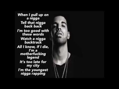 Drake Legend Lyrics Only (HD)
