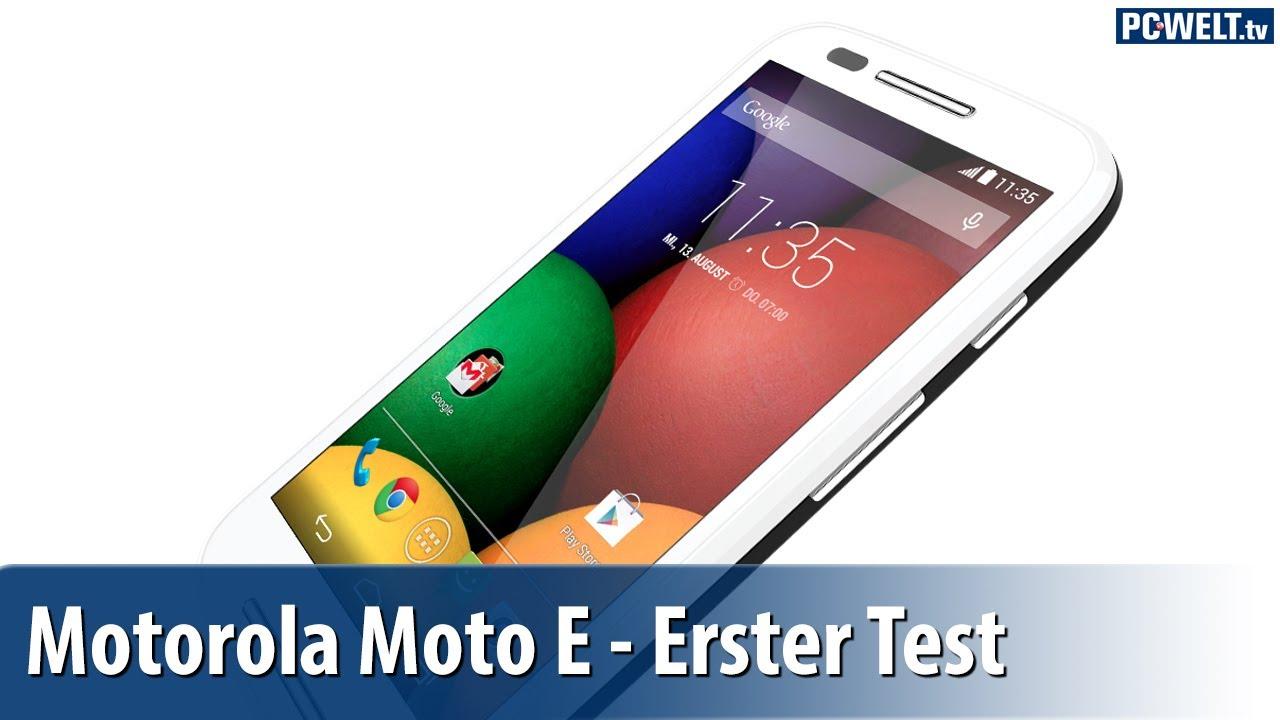 119-Euro-Smartphone: Motorola Moto E im ersten Test ...