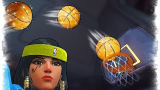 World's Best Basketball Shot..!! | Overwatch Best and Funny Moments - Ep.172
