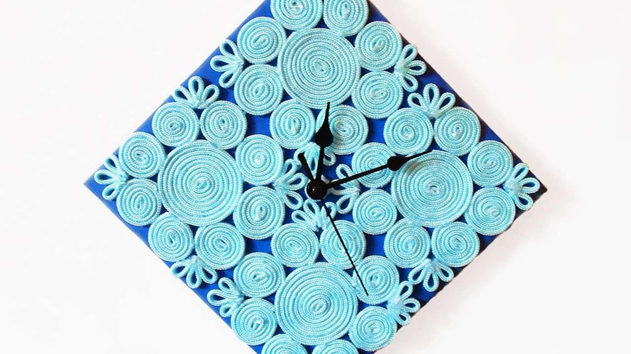 How To Make A Wall Clock At Home Euffslemani