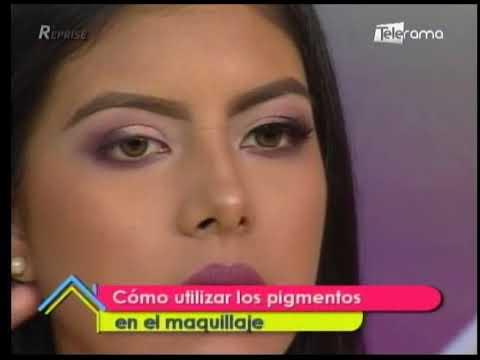 Cómo utilizar pigmentos en el maquillaje