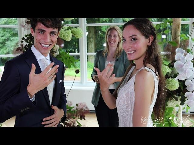 Teaser weddingclip ter promotie  van Fletcher Trouwen