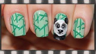 Маникюр Панда. Рисуем на ногтях акриловыми красками + Стемпинг | Cute Panda Nail Art(Стемпинг СОВЕТЫ и идеи в этом видео: https://www.youtube.com/watch?v=ybbVblZCZQA Как рисовать на ногтях акриловыми красками:..., 2015-03-19T15:46:08.000Z)