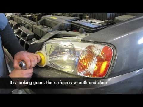 ToyoMotors Auto Care- Auto Repair Phoenix. Plastic lens, head lamp cleaning and polishing.